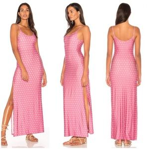NOVELLA ROYALE SEXY SLIT MAXI DRESS FREE PEOPLE
